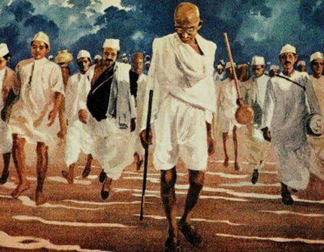 """Mahatma"""" Gandhi"""
